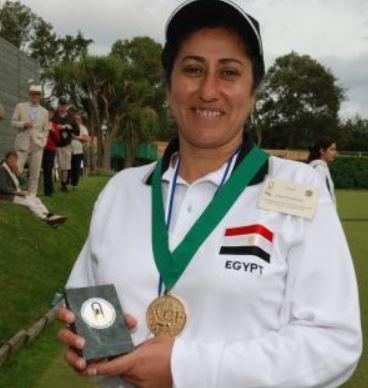 2007 Women's Golf Croquet World Championship – Winner: Iman El Faransawy (EGY)
