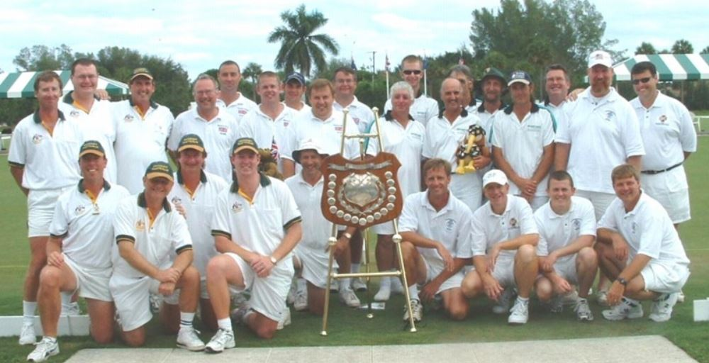 2003 MacRobertson Shield – Champion: Great Britain