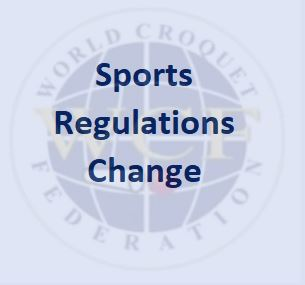Temporary amendment to Sports Regulations