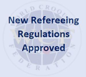Update to Refereeing Regulations
