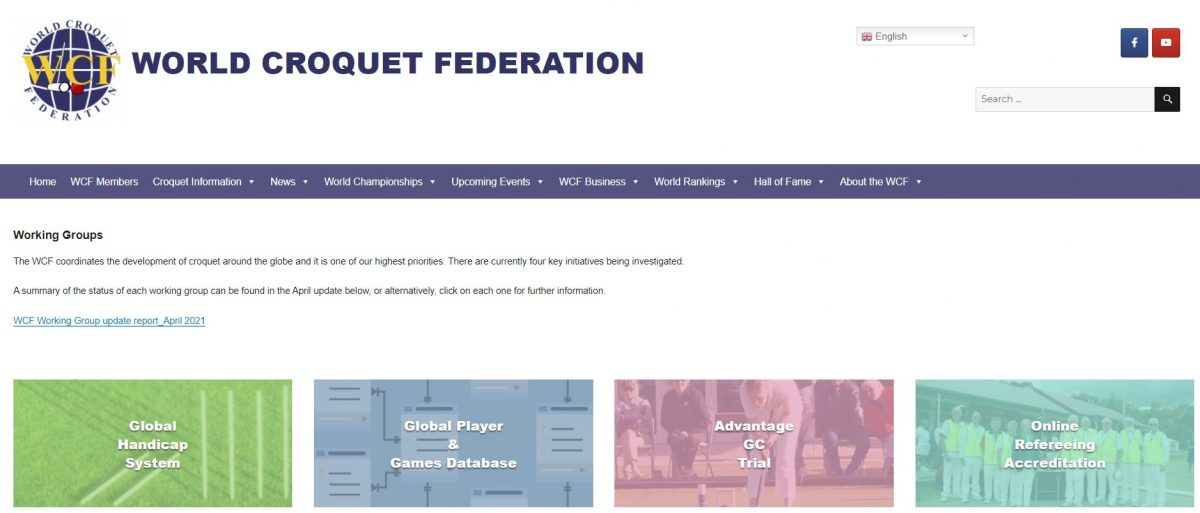 WCF Working Groups Update